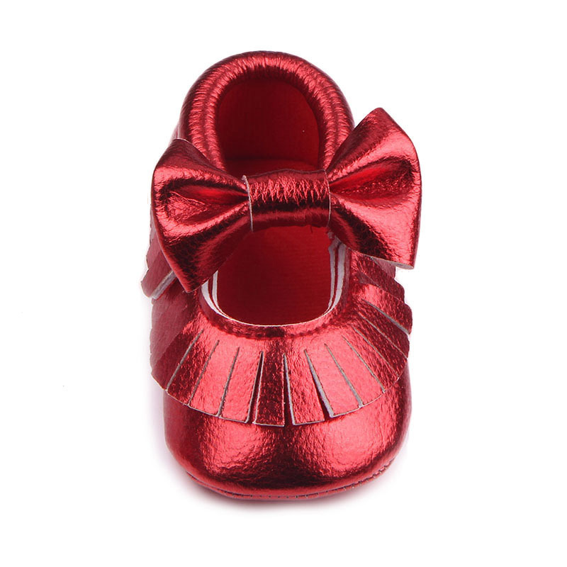Hot Newborn Infant Baby Toddler Solid Color Soft Cozy Girls Cute Walking Shoes