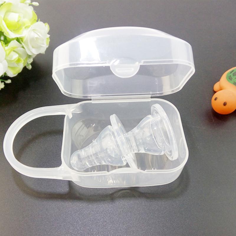 Портативный чехол для соски для маленьких мальчиков и девочек, контейнер для хранения детских принадлежностей, Органайзер