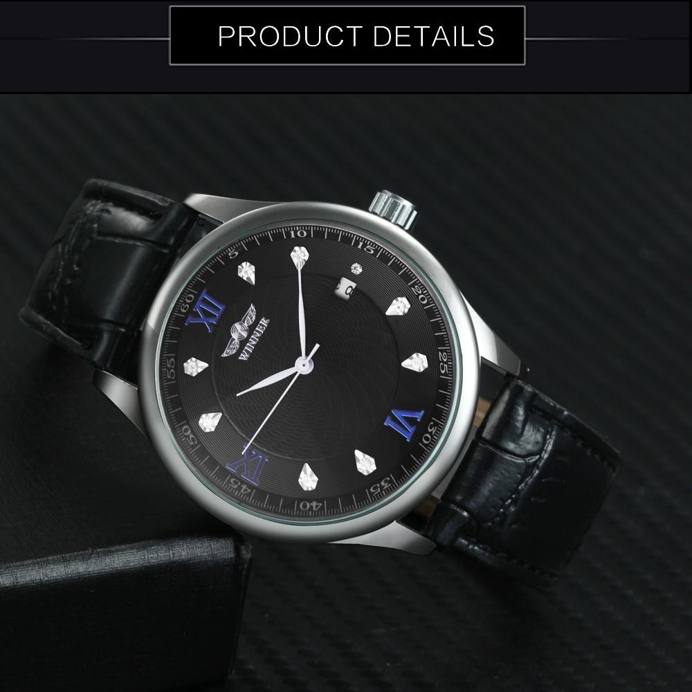T-ZWYCIĘZCA Luksusowy damski automatyczny mechaniczny zegarek na - Zegarki damskie - Zdjęcie 4