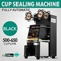 Электрическая полностью автоматическая машина для запечатывания стаканчиков Pet  большая высота 180 мм