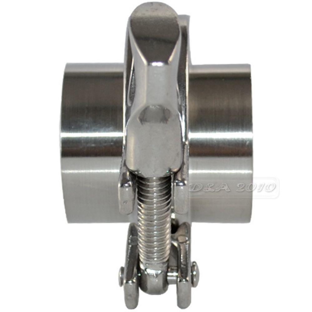 """PTFE Gasket 2pcs 102mm 4/"""" Weld on Ferrule Sanitary Pipe Fitting SUS 316 Steel"""