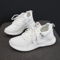 697 fly woven sneakers women ins lightweight meshmenshoes student net red female models fitness casual old shoes