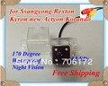 Visión nocturna 4LED CCD HD Especial de la Opinión Posterior Del Coche Cámara reversa de reserva para Ssang yong Kyron Rexton impermeable envío libre