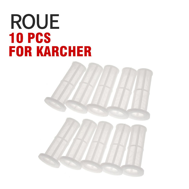 ROUE 10pc/lot Water Filter Net For Karcher Filter K2 - K7 High Pressure Washer
