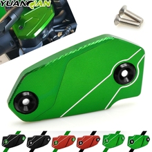 For Kawasaki Z900 Z 900 2017 Motorcycle Brake Fluid Reservoir Tank Cover CNC Aluminum Cap Motorbike