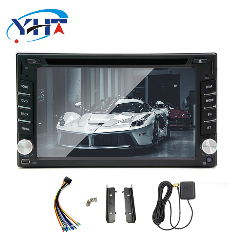 Quad Core 1024*600 2 din Android 7.1 for For Nissan Qashqai Kia Ceed Honda Civic suzuki swiftCar DVD Player Navigation GPS Radio