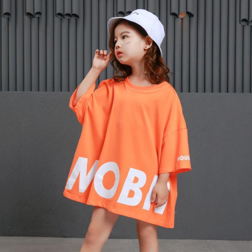 Kid Hip Hop Clothing Casual T Shirt Tops Performance Pants Girls Boys Jazz Dance Wear Costumes Ballroom Dancing Clothing Wear
