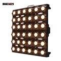Светодиодный светильник с матрицей 36x3 Вт золотого цвета DMX512  сценический эффект  хорошее освещение для диско-ди-джеев  вечерние напольные т...