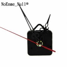 Bezszelestny zegar ścienny cichy ruch zestaw mechanizm zegara części z wskazówki zegara zegar ścienny części naprawcze diy zestaw długi wrzeciona tanie tanio NoEnName_Null CN (pochodzenie) clock movement Plastic + Aluminum 1 set