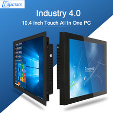 Faismars da 10.4 pollici 1024x768 Intel J1900 2.0GHz All In One PC Capacitivo/Resistivo Touch Panel Industrial PC Desktop Del Computer(China)