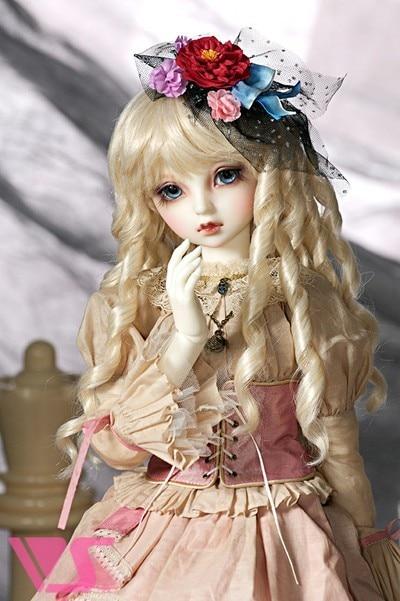1/3 scale nude BJD doll Cute pretty cartoon girl BJD/SD