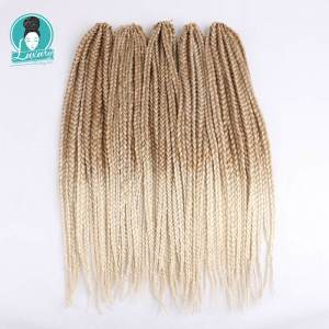 "Image 1 - Di lusso Per Intrecciare Syntheic Capelli Ombre Viola Marrone Bionda 24 ""12strands/pc 110g Jumbo Crochet Box trecce"