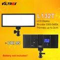 Viltrox L132T LED Luz De Vídeo Pantalla LCD Ultrafina Bicolor Y Regulable DSLR Panel De Luz De Estudio Para Videocámara DV De La Cámara