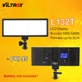 Viltrox L132T LED Video Light Ultra Thin LCD Display Bi-Color & Dimmable DSLR Studio Light Lamp Panel For Camera DV Camcorder