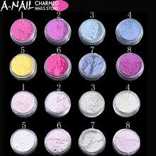 1g Sunlight Sensitive Powder Color Changing Nail Glitter Powder UV Light Photochromic Pigment Manicure Tips Decoration