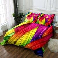 Custom size 3D bedding set Twin Full king size Queen bedsheet Duvet Pillowcase bed cover flat sheet Bed Linen Drop Ship bed set