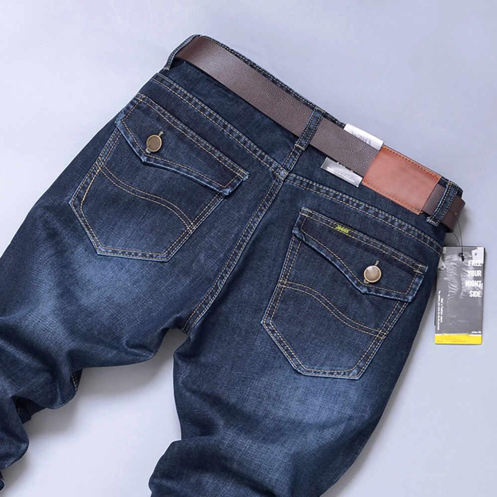 2020 Mannen Casual Broek Mannen Fashion Hoge Kwaliteit Herfst Denim Katoen Hip Hop Losse Werk Lange Broek Jeans Broek drop Shipping