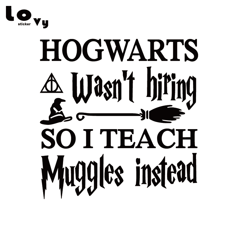 Baby Muggle on Board Cute Harry Potter Funny Car Decal Sticker Poster