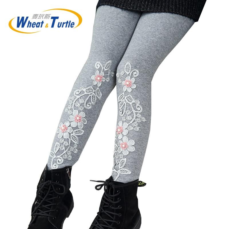 2017 Mother Kids Children S Clothing Pants Child Girl S Spring Autumn Winter Thicken Velvet Warm