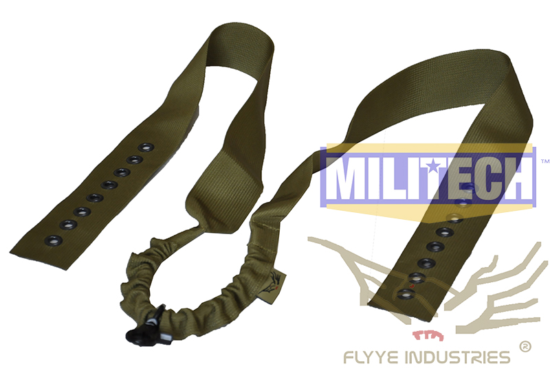 Military Spec Khaki KH CIRAS Tactical Vest Safety Rifle Sling Belt FLYYE FY-SL-S004 Quick Release Vest Rifle Sling цена