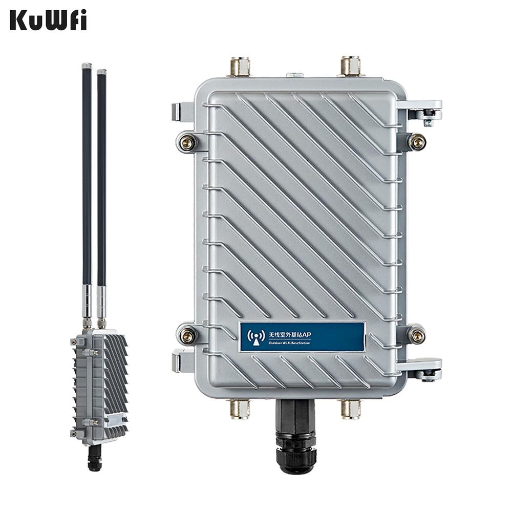 Routeur CPE sans fil extérieur 300 Mbps haute puissance répéteur Wifi amplificateur de Signal WiFi routeur de Point d'accès longue portée Wifi