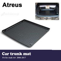 Atreus Car Waterproof Trunk Mat Tray Floor Carpet Pad For Audi A4 B8 2006 2007 2008 2009 2010 2011 2012 2013 2014 2015 2016 2017