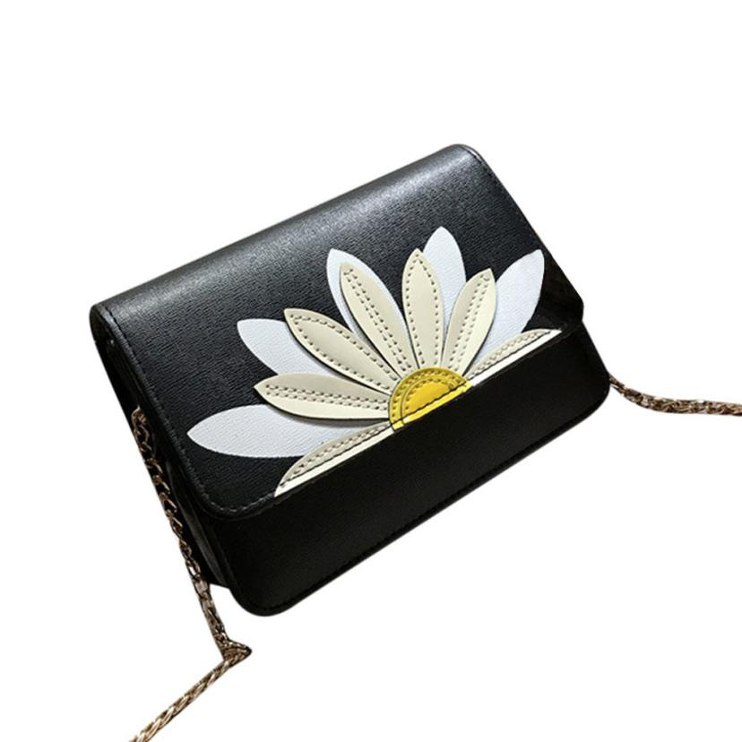 Women Messenger Bags Lotus Crossbody Shoulder Bags Handbag Small Body clutch bags for women 2018 torebka damska sac a main S