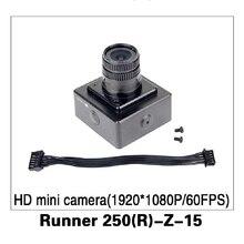 Mini Cámara HD (1920*1080 P/60FPS) para Walkera Runner 250 Antelación GPS RC Quadcopter Drone partes Corredor 250 (R)-Z-15