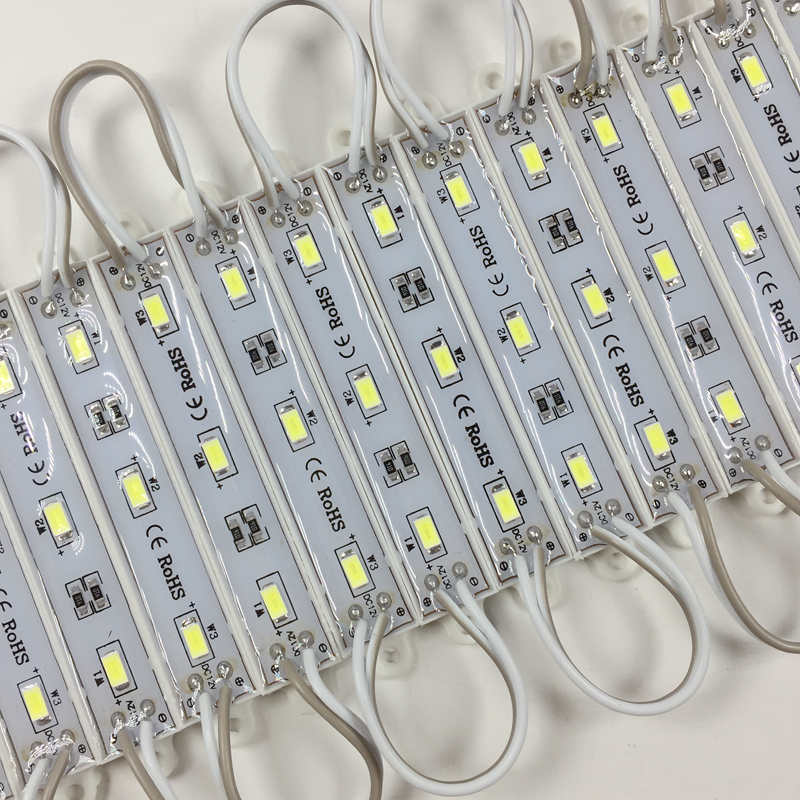 100pcs High Brightness DC12V SMD 5730 5630 LED light module LED backlight LED modules for signage