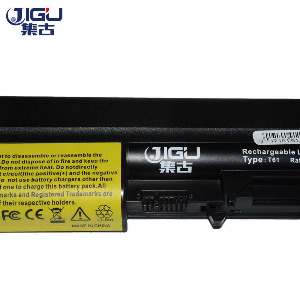 JIGU Black Laptop Battery FOR IBM ThinkPad R60 T60 T60p R61e T61 T61p R61i FOR LENOVO R500  R61e T61 T61p R61i R61 T500 W500