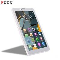 FUGN 7 zoll Smart Tablet PC Android für Kids Quad Core 1 GB + 16 GB Wifi Dual Kameras 3g Anruf Notebook Tabletten mit Tastatur