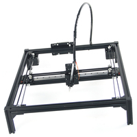 DIY mini drawbot pen drawing robot machine guide rail version A4 A3 engraving area frame plotter robot kit support laser