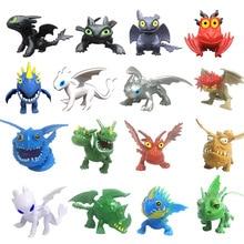 Dragon Action Figure Toys Night Fury Light Toothless Model Kids Gift