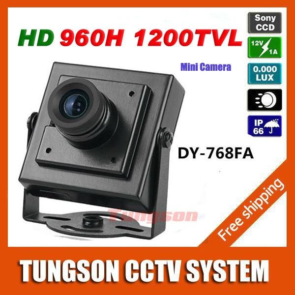 High Resolution HD Video Surveillance Micro Cam Sony 960H CCD Effio 1200TVL Security Small Mini CCTV