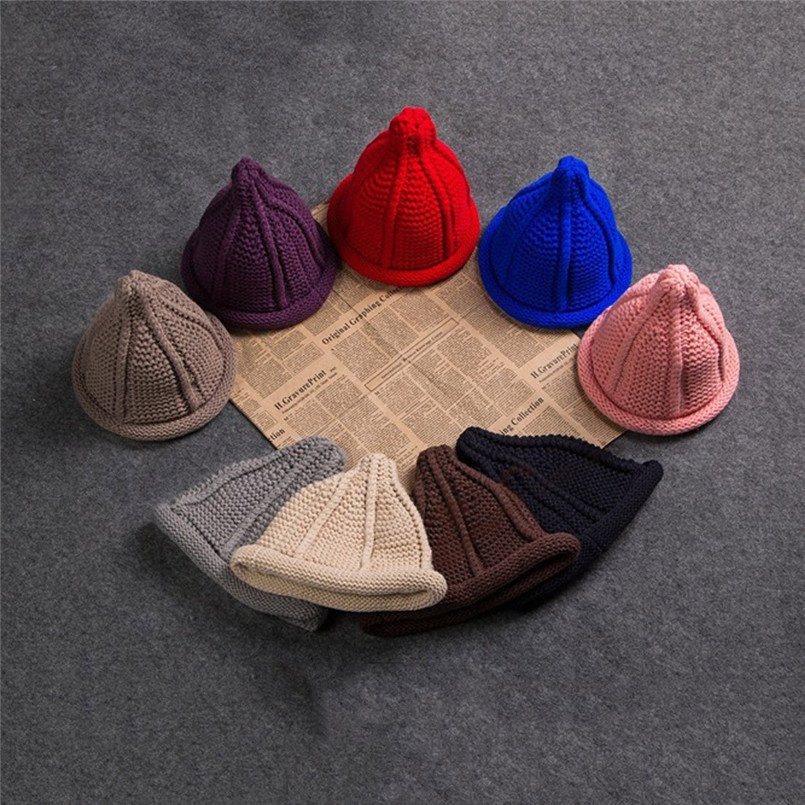Ladies Fashion Women Warm Cute Pacifier Cap Shape Winter Plus Solid Slouchy Knit Hat Popular Hats For Women 30NV29 (5)