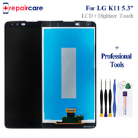 for LG k10 2018 K11 LCD Display with Touch Screen for LG K10 2018 Pantalla with Digitizer Assembly Repair 5.3 Free Shipping