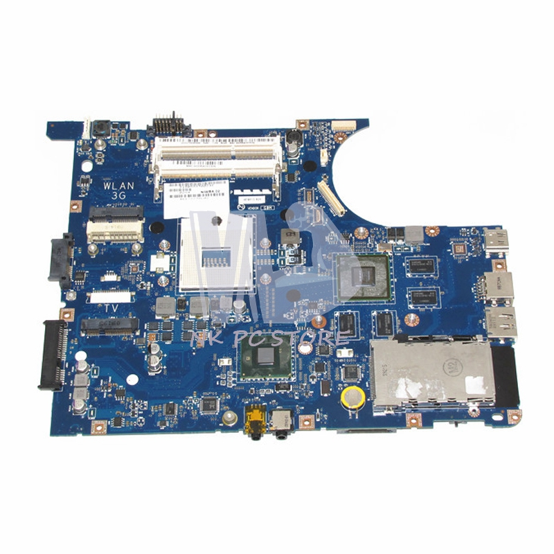 NIWBA LA-5371P MAIN BOARD For Lenovo Y550 Y550P Laptop Motherboard HM55 DDR3 N10P-GS-A2 GPU Support I7 Only brand new for lenovo y570 laptop motherboard piqy1 la 6882p rev 2 0 main board with nvidia n12p gt1 a1 gpu