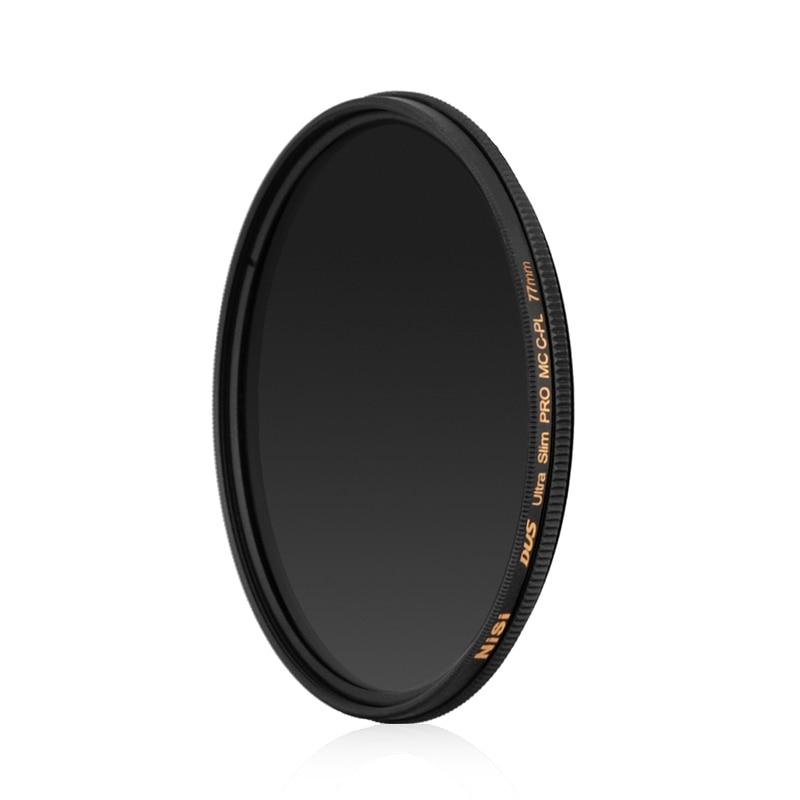 NISI slim multi-film MC CPL filter 77mm polarizer filter стоимость