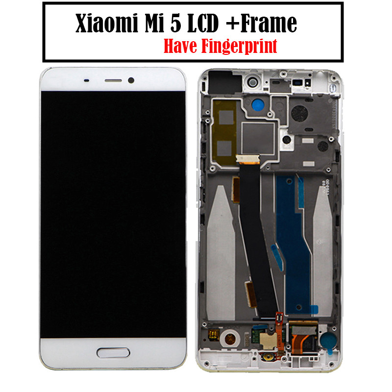 For Xiaomi Mi5 LCD Touch Screen With Frame LCD Display + Touch Panel Replacement for Xiaomi mi 5 Pro PrimeFor Xiaomi Mi5 LCD Touch Screen With Frame LCD Display + Touch Panel Replacement for Xiaomi mi 5 Pro Prime