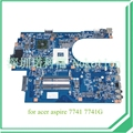 Je70-cp MB 09923 - 1 M 48.4HN01.01M mb. N9q01.001 para acer aspire 7741 7741 G DDR3 HM55 placa-mãe ATI HD 5470
