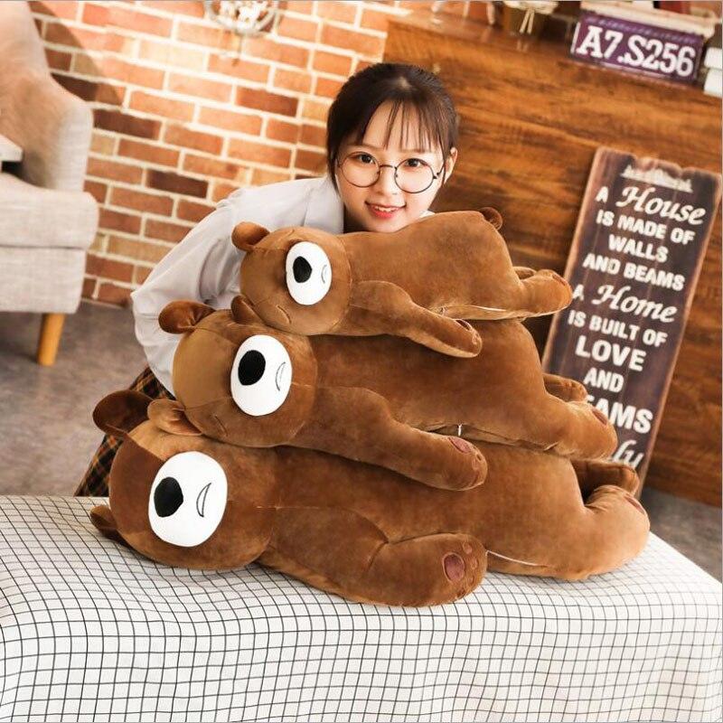 Cute Cartoon Sleeping Bear Plush Toys Stuffed Animal Doll Toy Pillow Children Birthday & Christmas Gift
