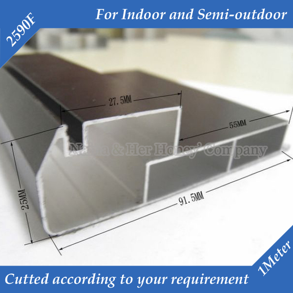 1meter/pc 6meters/lot 2590F <font><b>LED</b></font> Display Screen Frame For <font><b>LED</b></font> Display Unit <font><b>Module</b></font> Suit for P4,P5,P6,P7.62,<font><b>P10</b></font> Indoor image