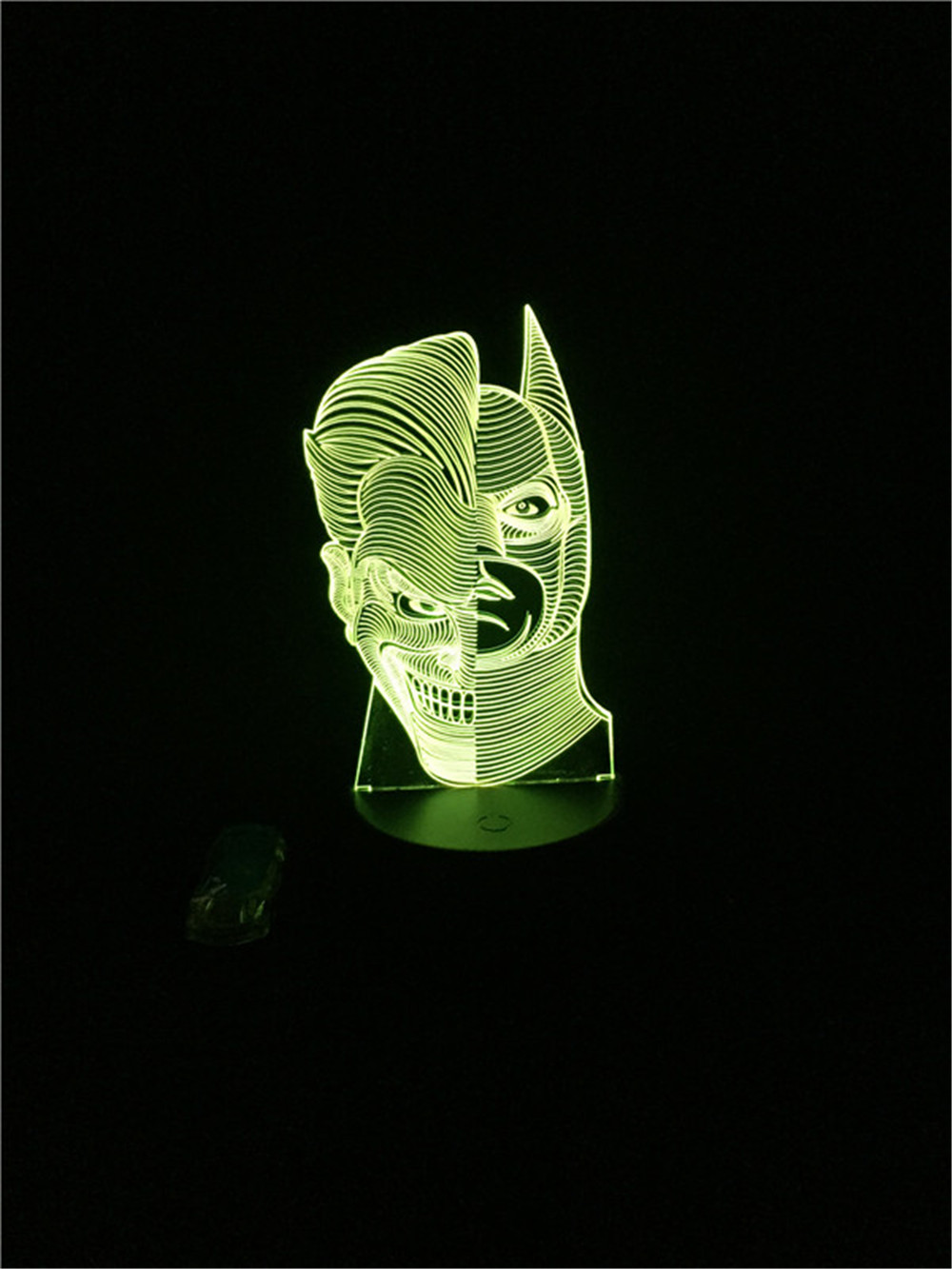 Luzes da Noite da noite da lâmpada 3d Function 2 : Led Bulb/holiday Novelty Lighting/night Light