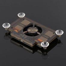Universal telefone celular cooler suporte de refrigeração ventilador do radiador para huawei smartphone tablet acessórios jogo ventilador de refrigeração