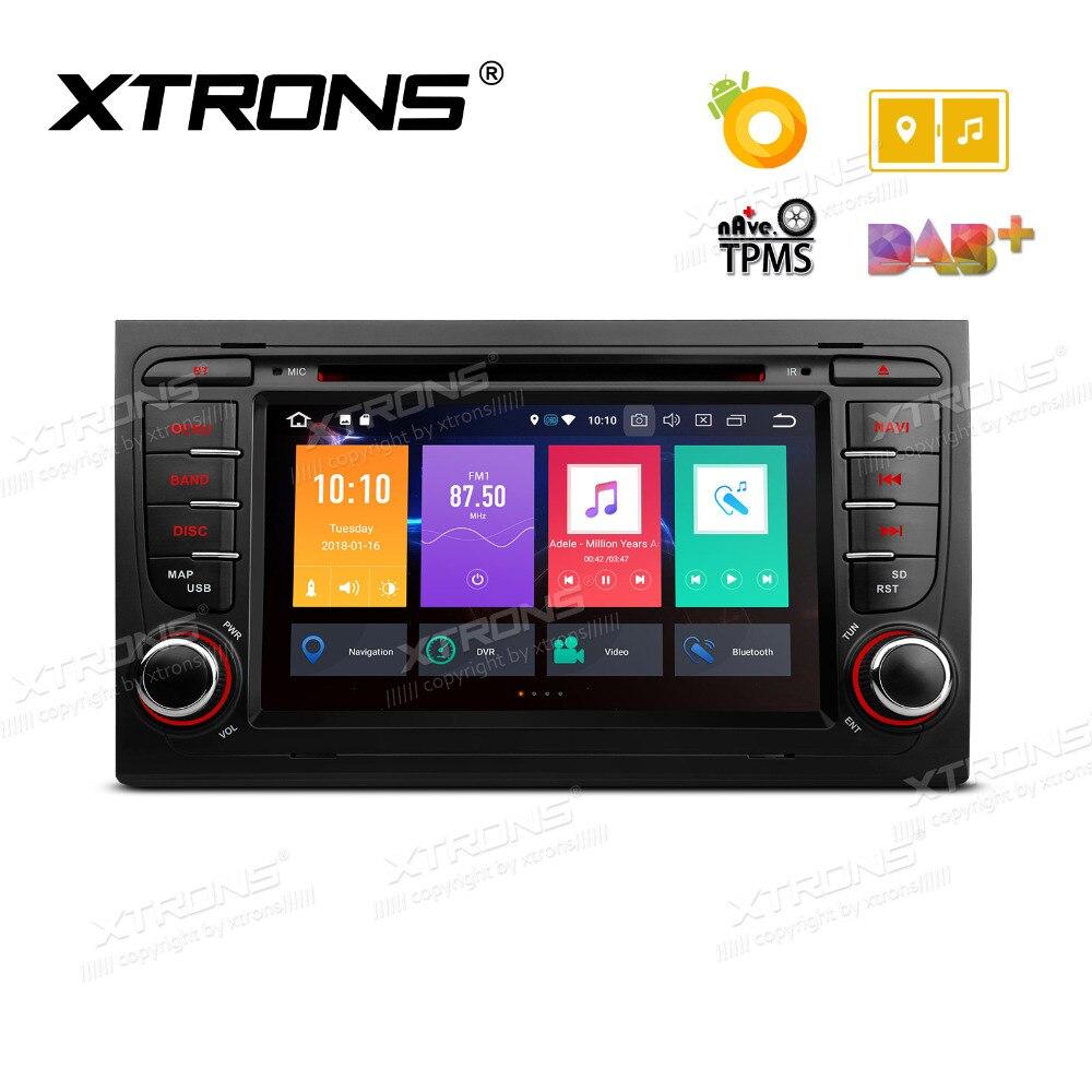 """XTRONS 7 """"Android 8,0 Octa Core GPS Radio reproductor de DVD de coche"""