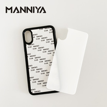 Manniya 2d 승화 강화 유리 고무 케이스 iphone xs xr xs max 11/11 pro/11 pro max 무료 배송! 100 개/몫