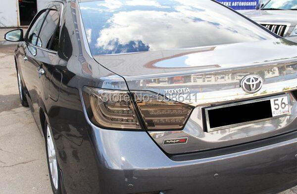 Camry 2012-13 godine Aurion LED stražnje svjetlo za BMW Style Smoke - Svjetla automobila - Foto 3