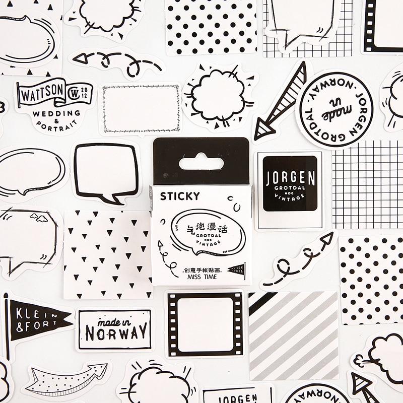 Серия Mohamm Girl, милые наклейки Kawaii в коробке, планировщик для скрапбукинга, канцелярские товары, японский дневник, наклейки - Цвет: F