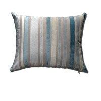 Rectangular Cushion Covers Blue Striped Pillow Covers Summer Sofa Seat Cushion Capa Almofadas Coussin For Home