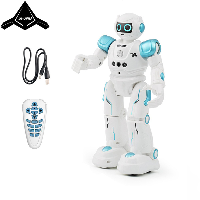 JJRC R11 puzzle remote control robot smart touch gesture induction robot dog singing and dancing intelligent interactive toys-in RC Robot from Toys & Hobbies